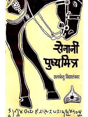 सेनानी पुष्य मित्र - Fighter Pushya Mitra: The Fictional Story of the Decline of the Maurya Empire (An Old Book)