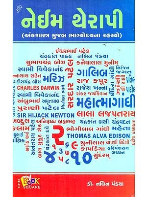 Name Therapy- Mysteries Of Destiny According To Numoerology (Gujarati)