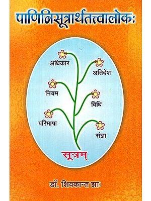 पाणिनिसूत्रार्थतत्वालोकः- Tattvaloka of Panini Sutras
