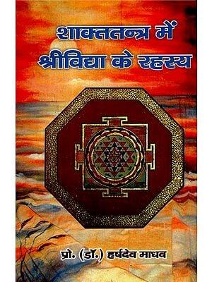 शाक्ततन्त्र में श्रीविद्या के रहस्य - Secrets Of Srividya in Shakta Tantra