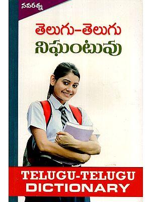 Telugu and Telugu Dictionary (Telugu)