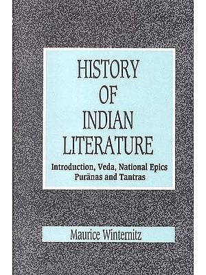 A History of Indian Literature Vol.1