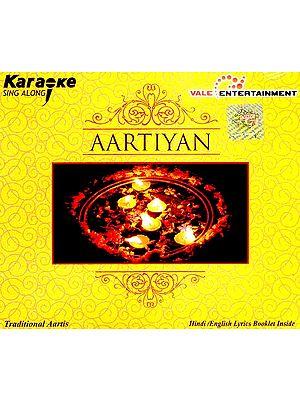 Aartiyan (Karaoke Sing Along) (Hindi /English Lyrics Booklet Inside) (Audio CD)