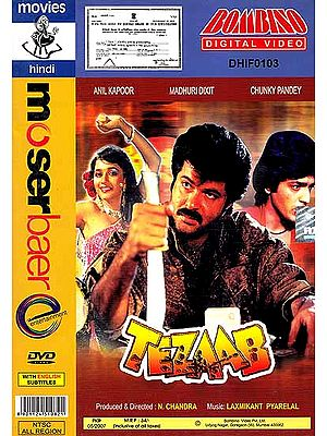 Acid: A Violent Film about a Proclaimed Offender in Love with a Dancer (Hindi Film DVD with English Subtitles) (Tezaab)