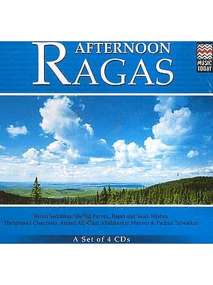 Afternoon Ragas (A Set of 4 CDs)