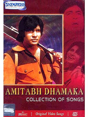 Amitabh Dhamaka: Favorite Collection of Songs from the Films of Amitabh Bacchan (DVD with Subtitles in English)
