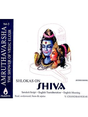 Shlokas On Shiva (Book with Transliterated Mantras + Audio CD)
