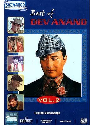Best of Dev Anand Vol-2  (Best Songs from the Films of the Evergreen Hero - DVD with English Subtitles)