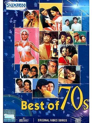 Best of 70s (Famous Hindi Film Songs from the 1970's - DVD with English Subtitles): Experience the Rich Variety of Indian Culture in Visual Terms