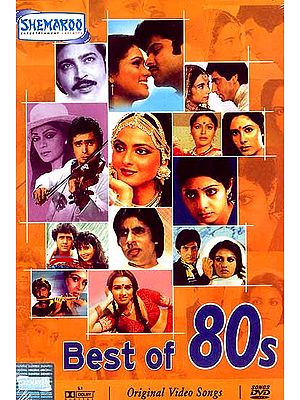 Best of 80s  (Famous Hindi Film Songs from the 1980's - DVD with English Subtitles): Experience the Rich Variety of Indian Culture in Visual Terms