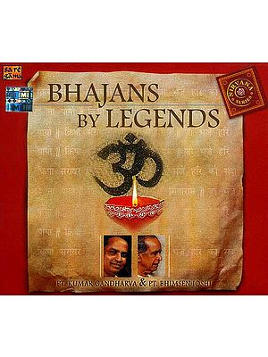 Bhajans by Legends (Audio CD)