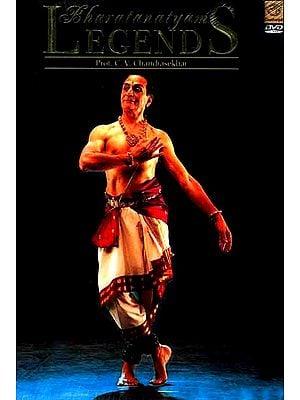 Bharatanatyam Legends Prof. C.V. Chandrasekhar (DVD Video)