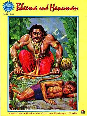 Bheema and Hanuman
