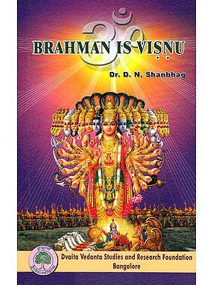 Brahman is Visnu (Visnu the God Paramount)