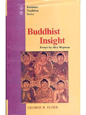 Buddhist Insight Essays by Alex Wayman