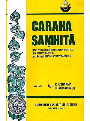 Caraka Samhita  (Volume VII Sloka-Index)