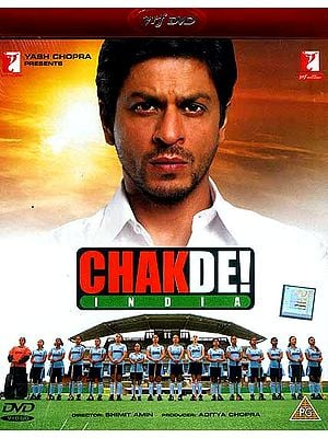 Chak De India - The Trials and Tribulations of an All-Women's Hockey Team (DVD with Optional Subtitles in English/Arabic/Spanish/ Portugese/Dutch/Tamil/Malayalam)