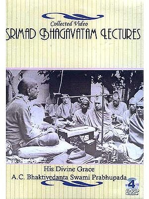 Collected Video Srimad Bhagavatam Lectures (4 DVDs)
