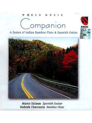 Companion (A Fusion of Indian Bamboo Flute & Spanish Guitar) (Audio CD)
