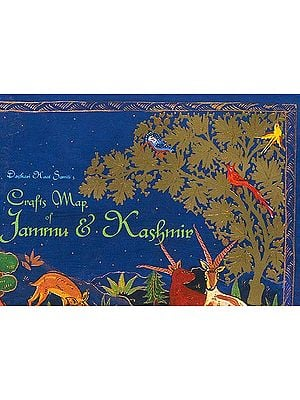 Crafts Map of Jammu and Kashmir