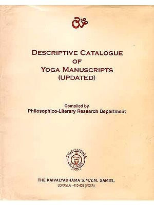 Descriptive Catalogue of Yoga Manuscripts (Updated)