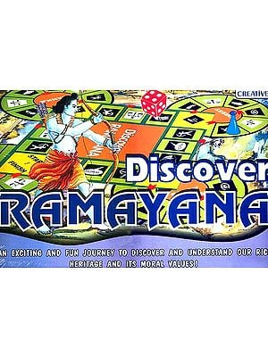 Discover Ramayana: An Exciting and Fun Journey to Discover and Understand Our Rich Heritage and Its Moral Values (Board Game for Ages Nine and Up)
