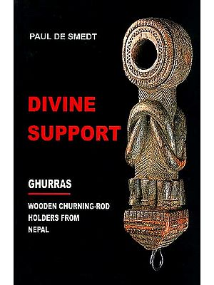 Divine Support: Ghurras Wooden Churning-rod Holders From Nepal