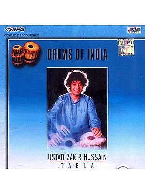 Drums of India Ustad Zakir Hussain Tabla (Audio CD)