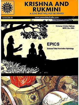 Epics: Selected Tales From Indian Mythology (10 Amar Chitra Katha Comics)