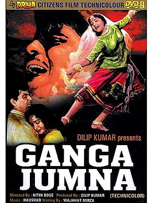 Ganga and Yamuna: A Dramatic Story about Two Brothers on the Opposite Sides of the Law (Hindi Film DVD with English Subtitles) (Ganga Jumna)