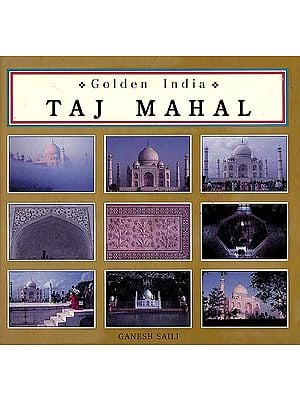 Golden India Taj Mahal