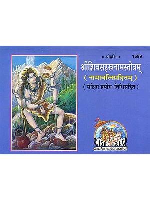 श्रीशिवसहस्त्रनामस्तोत्रम् (नामावलिसहितम्): Shri Shiv Sahasranama Stotram