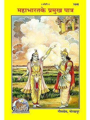 महाभारत के प्रमुख पात्र: Main Characters of the Mahabharata (Picture Book)