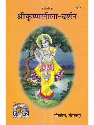 श्रीकृष्णलीला दर्शन: Shri Krishna Lila Darshan (Picture Book)