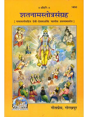 शतनामस्तोत्रसंग्रह (नामवलिसहित देवी- देवताओं के चालीस शतनामस्तोत्र): Collection of 108 Names of Gods and Goddesses