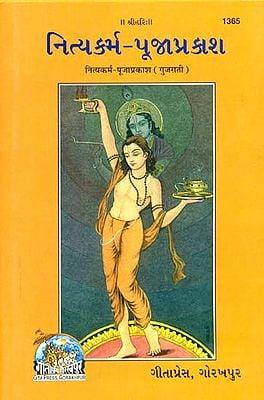 નિત્યકર્મ પુજાપ્રકાશ: A Most Useful Book for Performing Puja (Gujarati)