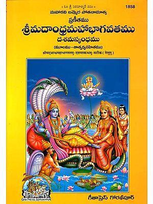 శ్రీమదాంధ్ర మహాభాగవతము (దశమస్కంధము) - Srimad Andhra Mahabhagavatam - Dasham Skanad (Telugu)