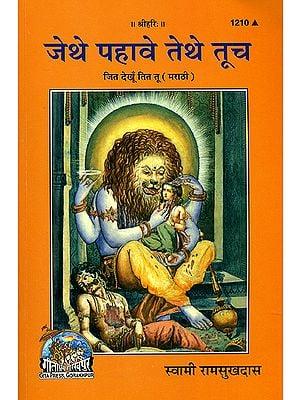 जेथे पहावे तेथे तूच: Wherever I See, You are There (Marathi)