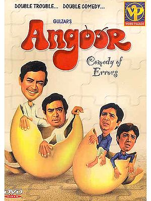 "Grapes: A Hilarious Film Based on Sakespeare's ""Comedy of Errors"" (Hindi Film DVD with English Subtitles) (Angoor) - One of the Bestselling Videos of All Times"
