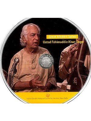 Great Masters Series Ustad Fahimuddin Khan Dagar (DVD)