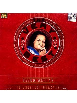 10 Greatest Ghazals Begum Akhtar (Audio CD)