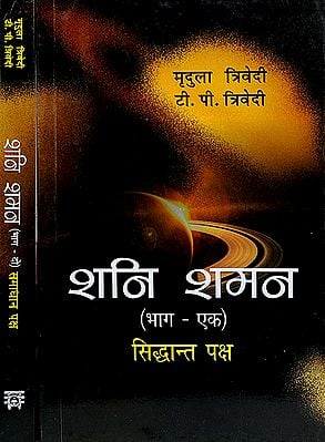 शनि शमन (सिद्धान्त तथा समाधान पक्ष) - Effect of Saturn in Our Life (Set of 2 Volumes)