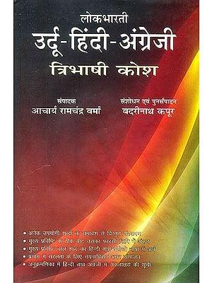 उर्दू हिन्दी अंग्रेजी त्रिभाषी कोष: Urdu Hindi English Trilingual  Dictionary