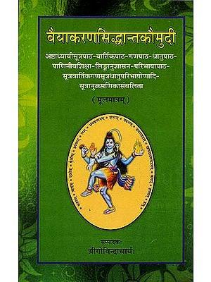 वैयाकरणसिध्दान्तकौमुदी: Vaiyakarana Siddhanta Kaumudi