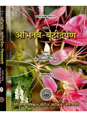 अभिनव बूटीदर्पण: Collection of Articles on Medicinal Herbs (Set of 2 Volumes)