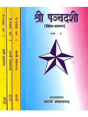 श्री पन्चदशी: Detailed Explanation of Panchadasi (Set of 4 Volumes)