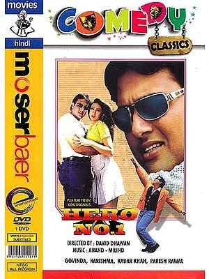 Hero No 1 (Comedy Classics) (Hindi Film DVD with English Subtitles)