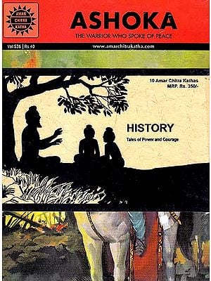 History: Tales of Power and Courage (10 Amar Chitra Katha Comics)