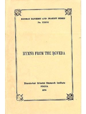 Hymns From the Rgveda (With Sayana's Commentary, A Rare Book)