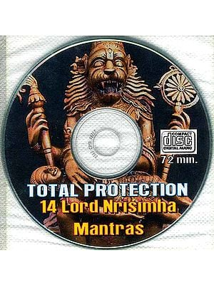 Total Protection 14 Lord Nrisimha Mantras (Audio CD)
